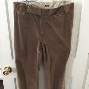 Gap velvet trousers